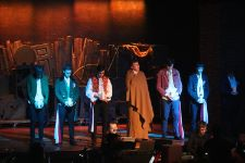 Teddy Pope as Marius with his departed friends