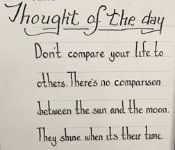 Thought for the Day 13th July
