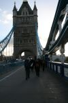 Yr 10s walking over Tower Bridge
