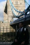 Amardeep at Tower Bridge