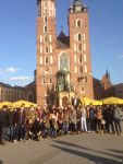 St Mary's Cathedral, town square, Krakow