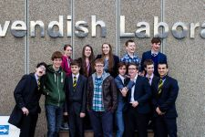 Maths & Physics Society, being very serious at Cavendish Laboratories Cambridge University