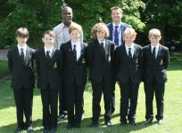 Cricketer Michael Holding visits TBSHS