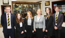 Natalie Bennett, Leader of the Green party and 6th Formers