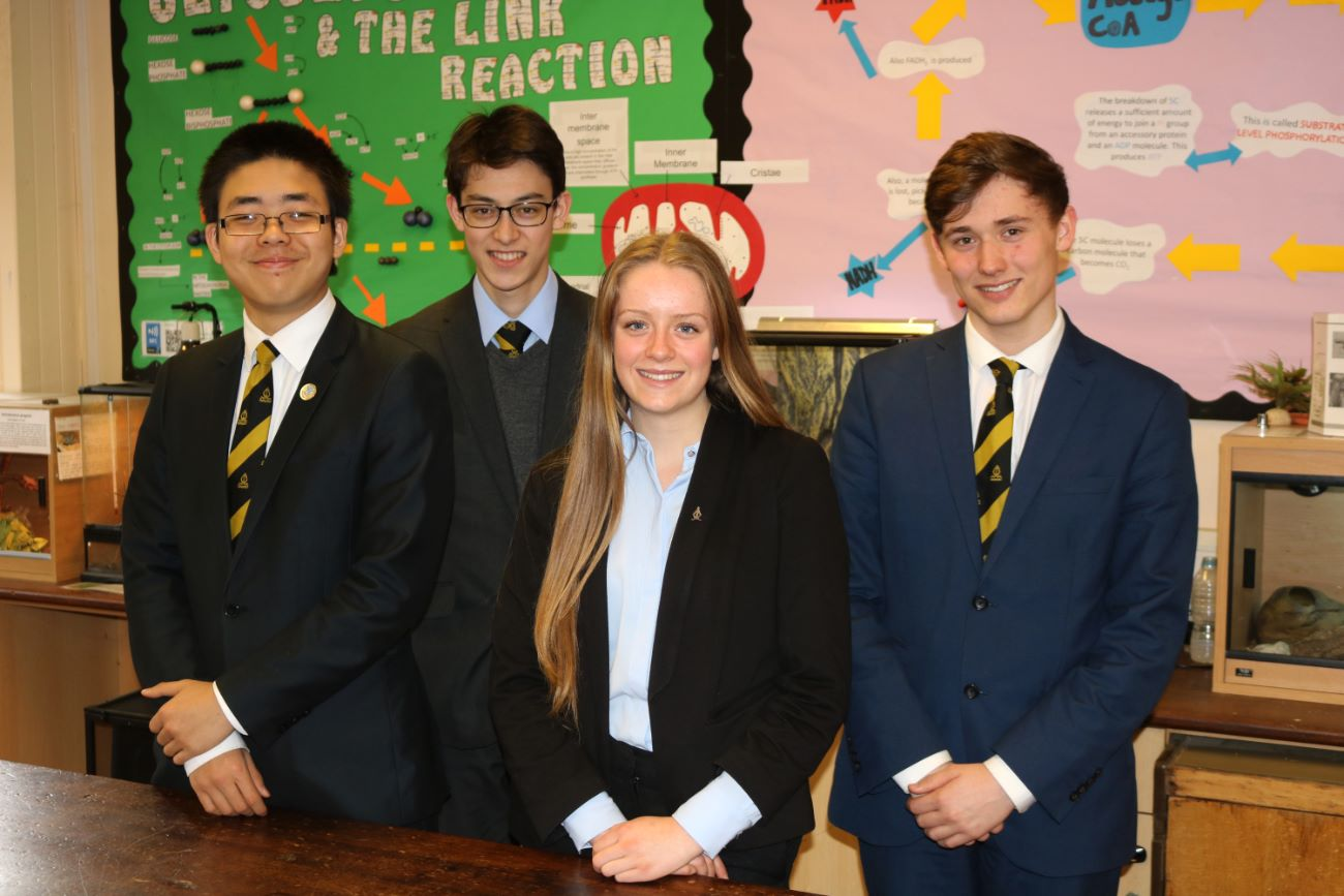 Four Students get the GSK Experience