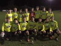 Stop Press - U18 Football team win the County Cup
